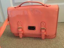 Pauls Boutique Small Coral patent Satchel /handbag