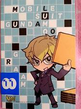 Mobile Suit Gundam 00 Graham Postcard anime Original manga