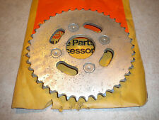 NOS OEM HARLEY DAVIDSON 41460-68P REAR SPROCKET RAPIDO ML 125 BAJA MSR 1000