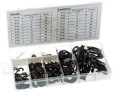 E-Sicherungsring Sortiment 300 E-Ringe E-Sicherung Sicherungsscheibe Federstahl