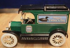 ERTL 1913 MODEL T FORD VAN - HEAVY DIE CAST - BANK - KEY ATTACHED - VINTAGE