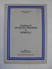 SOTHEBY - OGGETTI PREZIOSI E GIOIELLI - MILANO 18 NOVEMBRE 1980