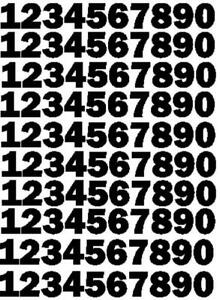 22mm Numbers Self Adhesive.For use in the house, bin, signs, crafts, sport etc.