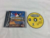 Tony Hawk's Pro Skater 3 (PlayStation 1, 2001) PS1 Game Complete - Black Label