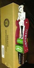 NIB DOGFISH HEAD OFF CENTERED NAMASTE BEER TAP HANDLE