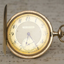 ULYSSE NARDIN /AUGUST ERICSSON Imperial RUSSIAN MARKET GOLD Antique Pocket Watch