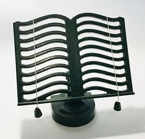 Victor England Cast Iron Kitchen Cook Book Stand Green Cook Book Holder