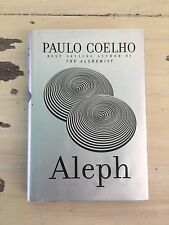 ALEPH - Hardback Book & Dust Cover by Paulo Coelho, 2011 - MUST SEE!