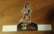 Weird Al Yankovic Alapalooza Yankosaurus Album Store Display Accordian Dinosaur