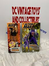 "1995 Kenner Action Man TIGER STRIKE 1/6 Doll 12"" & Doctor X Roboter-Hand Lot—2"