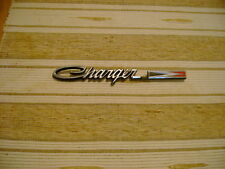 "NOS MOPAR 1970 DODGE CHARGER ""CHARGER"" REAR TAIL PANEL NAMEPLATE NICE!!"
