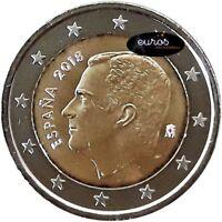 Pièce 2 euros annuelle ESPAGNE 2018 - Effigie Felipe VI - UNC  non commémorative
