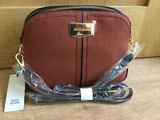 90d41d4fe1 RIVER ISLand Dark brown kettle cross body bag new WITH TAGS