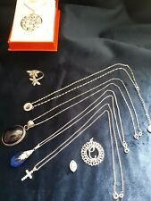 items all in excellent condition 40gms Solid silver (925) Jewellery job lot, 8