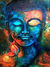 Diamond Painting Buddhism Buddha Lotus flower Full drill Fashion Handicraft 6047