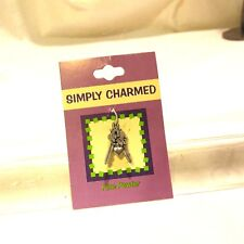 Simply Charmed Fine Pewter Jewelry Keys and Heart Charm