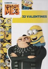 Valentines Day Cards Minions Despicable ME 3 Box 32 (Buy 1 Get others at 50% off