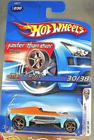 2006 Hot Wheels #30 First Editions 30/38 Faster Than Ever MED-EVIL Aqua w/FTE Sp