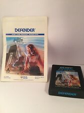 Defender (Atari 2600, 1982) with instructions