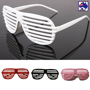 Shutter Shades Glasses Sunglasses Rave Party Hip Hop With Gift Bag JGLAS77