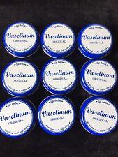9 X Vaselinum, Vaseline, Lip Balm, 20g Tins, New.