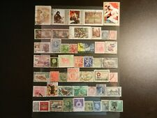 *WORLDWIDE STAMPS* LOT OF FORTY-SEVEN (47) ALL DIFFERENT USED