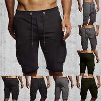 Men  Casual Shorts Athletic Gym Sports Training Swimwear Short Pants US