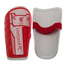 LIVERPOOL FC LFC SLIP ON SHINGUARD SHIN GUARDS PADS BOYS NEW XMAS GIFT