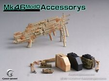 CRAZY DUMMY 1/6 MK46 MOD0 Rifle Stock - Cam for Action Figure #CD-75001-4