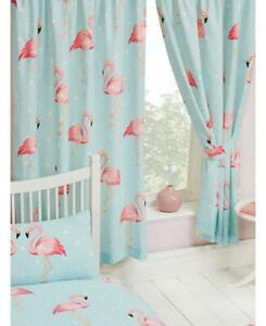 FIFI FLAMINGO ~ Ready Made Lined Curtains