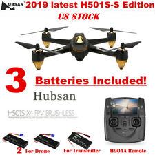Hubsan H501S S FPV GPS Drone X4 Pro 5.8G 1080P Brushless Quad Copter RTF, Black