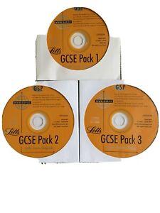 Letts GCSE CD Roms 3 Packs