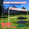 10x10ft Canopy Top Replacement Patio Gazebo Outdoor Sunshade Tent Cover US ~