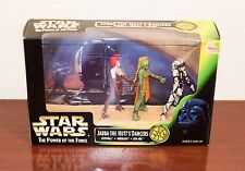 1998 STAR WARS POWER OF THE FORCE JABBA THE HUTT'S DANCERS FIGURE 3-PACK MIB