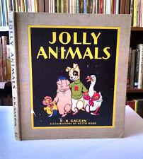 Keith Ward, JOLLY ANIMALS, 1930, 1st Edition, HC, similar to Harrison Cady