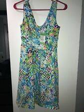 Lilly Pulitzer Shianne Dress Sea Soiree XS