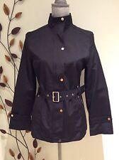 Dolce & Gabbana Black Rain Windbreaker Athletic Jacket Coat Size M US