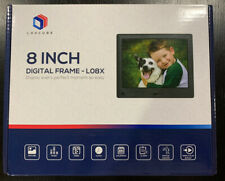 LOVCUBE 8 Inch Digital Photo Frame with Screen Resolution 1024x768 HD Display