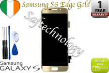 Original LCD display touch screen  For samsung galaxy s6 edge G925F Gold