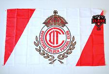 Toluca Flag Banner 3x5 ft Mexico Futbol Soccer Bandera