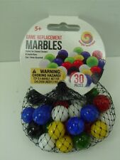 Net Of 30 Game Replacement Mega Marbles-14 mm-All Colors-Chinese Checkers-Crafts
