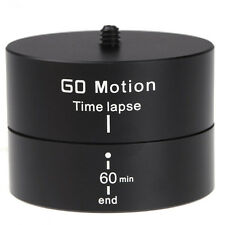 360° Delay Spin Stabilizer Tripod  Panning Rotating Time Lapse DSLR Gopro Camera
