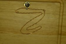 "15"" YELLOW GOLD FILLED CABLE CHAIN NECKLACE 2mm"