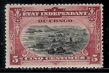 Belgium Colony BELGIAN CONGO 1894 - 1901 Over 115 Years Mint Stamp - Port Matadi