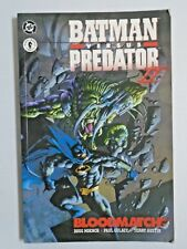 Batman vs Predator II Bloodmatch #1 1st First Print 4.0 VG (1995)