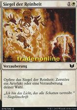 4x Siegel der Reinheit (Seal of Cleansing) Commander 2015 Magic