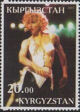 MADONNA POP MUSIC LEGEND ICON KYRGYZSTAN 2003 MNH STAMP