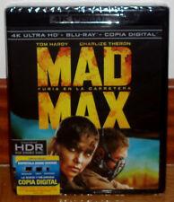 MAD MAX FURIA EN LA CARRETERA BLU-RAY 4K ULTRA HD+BLU-RAY NUEVO PRECINTADO R2