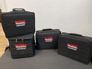 Makita Drill Storage Bags Bundle X4