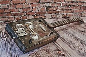 "Cigar Box Guitar ""Lonely Heart"""